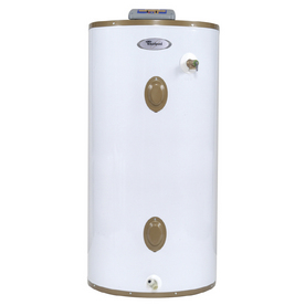 shop whirlpool 40 gallon 12 year electric water heater at