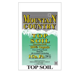Permagreen Mountain Country 1-cu ft Organic Top Soil