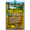Permagreen 2 cu ft Light Red Shredded 100 Percent Cedar Mulch