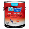 HGTV HOME by Sherwin-Williams Ovation Black Gloss Latex Interior/Exterior Paint and Primer in One (Actual Net Contents: 128-fl oz)