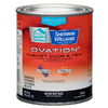 HGTV HOME by Sherwin-Williams Ovation White Gloss Latex Interior/Exterior Paint and Primer in One (Actual Net Contents: 118-fl oz)