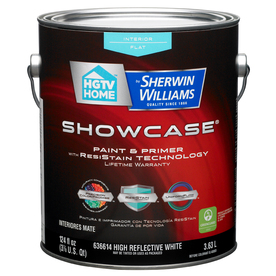 Shop Hgtv Home By Sherwin Williams Showcase Interior Flat Tintable White Latex Base Paint And