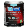 HGTV HOME by Sherwin-Williams Showcase White Flat Latex Interior Paint and Primer in One (Actual Net Contents: 29.5-fl oz)