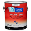 HGTV HOME by Sherwin-Williams Ovation White Flat Latex Interior Paint and Primer In One (Actual Net Contents: 128-fl oz)