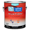 HGTV HOME by Sherwin-Williams Ovation White Flat Latex Interior Paint and Primer In One (Actual Net Contents: 124-fl oz)
