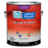 HGTV HOME by Sherwin-Williams Ovation White Semi-Gloss Latex Interior Paint and Primer In One (Actual Net Contents: 124-fl oz)