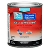 HGTV HOME by Sherwin-Williams Ovation White Flat Latex Interior Paint and Primer In One (Actual Net Contents: 29.5-fl oz)