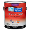 HGTV HOME by Sherwin-Williams Ovation White Semi-Gloss Latex Interior Paint and Primer In One (Actual Net Contents: 118-fl oz)