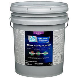 Shop Hgtv Home By Sherwin Williams Showcase 5 Gallon Size Container Exterior Semi Gloss Tintable