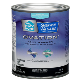 Shop Hgtv Home By Sherwin Williams Ovation Exterior Flat Tintable Tint Base Latex Base Paint And