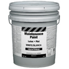 Property Advantage White Flat Latex Interior/Exterior Paint (Actual Net Contents: 640-fl oz)