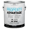 Property Advantage Property Advantage White Flat Latex Interior Paint (Actual Net Contents: 128-fl oz)