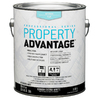 Property Advantage Property Advantage White Flat Latex Interior Paint (Actual Net Contents: 124-fl oz)