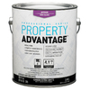 Property Advantage Property Advantage White Semi-Gloss Latex Interior Paint (Actual Net Contents: 124-fl oz)