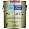 HGTV HOME by Sherwin-Williams Infinity White Eggshell Acrylic Interior Paint and Primer In One Paint (Actual Net Contents: 123 Fluid Oz.)