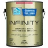 HGTV HOME by Sherwin-Williams Infinity White Eggshell Acrylic Interior Paint and Primer in One (Actual Net Contents: 120-fl oz)