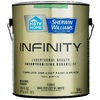 HGTV HOME by Sherwin-Williams Infinity White Flat Acrylic Interior Paint and Primer in One (Actual Net Contents: 123-fl oz)