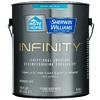 HGTV HOME by Sherwin-Williams Infinity Tint Base Flat Acrylic Exterior Paint (Actual Net Contents: 116 Fluid Oz.)