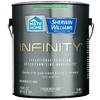 HGTV HOME by Sherwin-Williams Infinity Tint Base Satin Acrylic Exterior Paint (Actual Net Contents: 116 Fluid Oz.)