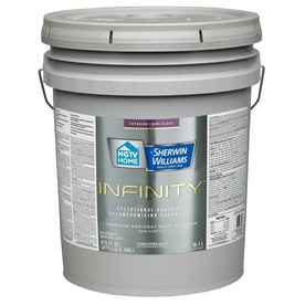 Shop Hgtv Home By Sherwin Williams Infinity Tint Base Semi Gloss Acrylic Exterior Paint Actual