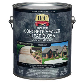 H&C Gallon Clear Gloss Solvent-Based Concrete Sealer