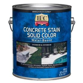 H&C 1 GL Shield Plus Ultra Solid Color Stain - Tint Base - White