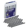 Kobalt 10-Pack 3/16-in Black Oxide Twist Drill Bits