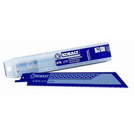 Kobalt 10-Pack 6-in 14T Reciprocating Saw Blade Set