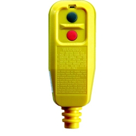 Tower Manufacturing 15-Amp 125-Volt Yellow 3-Wire Grounding GFCI with Automatic Reset