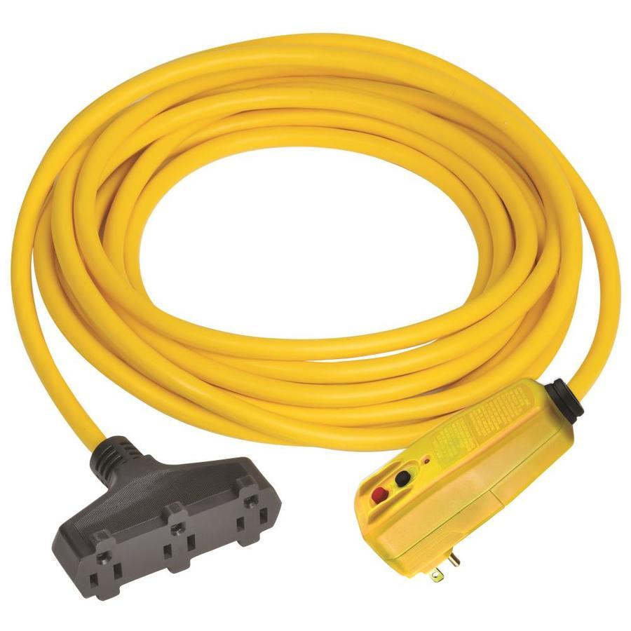 Gfci extension cord