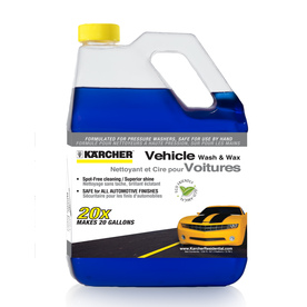Karcher 1-Gallon 20x Concentrate Vehicle Wash &amp; Wax