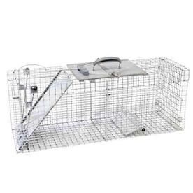 Havahart 39.3-in x 11.75-in x 4.75-in Steel Animal Trap