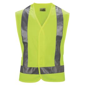 Red Kap 3XL Yellow Polyester High Visibility Reflective Safety Vest