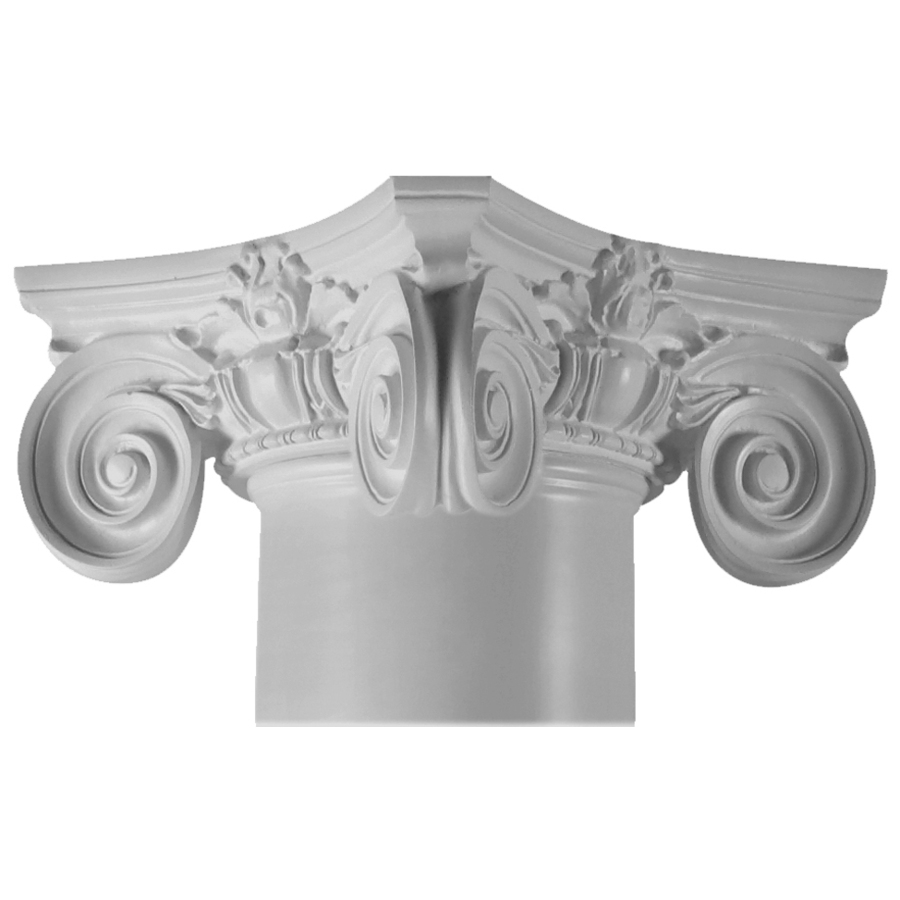Resin Post Caps : Shop turncraft in scamozzi poly resin column cap at