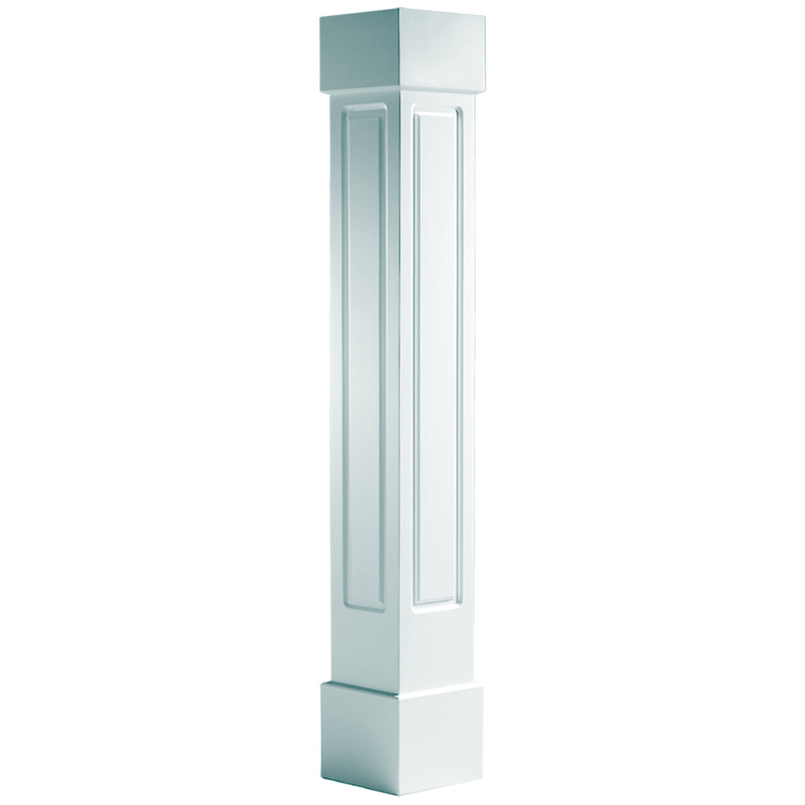 Shop turncraft x 10 ft pvc craftsman at for 10 foot porch columns
