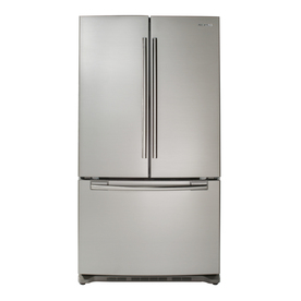 Samsung 25.8-cu ft French Door Refrigerator with Single Ice Maker (Stainless Steel) ENERGY STAR RF263AERS