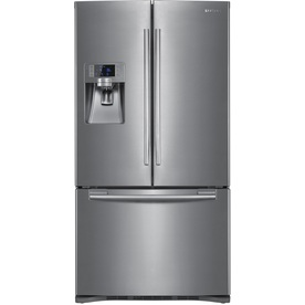 Samsung 22.5 cu ft French Door Refrigerator (Stainless Steel) ENERGY STAR