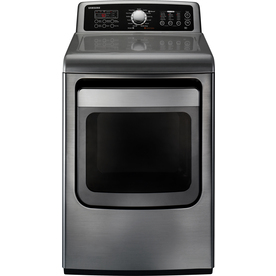 Samsung 7.4-cu ft Gas Dryer with Steam Cycles (Platinum)