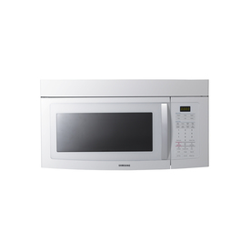 Samsung 1.7 cu ft Over-the-Range Microwave (White)