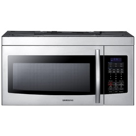 Samsung 1.7 cu ft Over-the-Range Microwave (Stainless Steel) SMH1713S