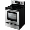 Samsung Smooth Surface Freestanding 5-Element 5.9-cu ft Self-Cleaning Convection Electric Range (Stainless Steel) (Common: 30-in; Actual: 29.9-in)