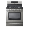 Samsung 30-in 5-Burner Freestanding 5.8 cu ft Convection Gas Range (Stainless Steel)