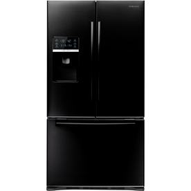 Samsung 28.5-cu ft French Door Refrigerator with Dual Ice Maker (Black) ENERGY STAR