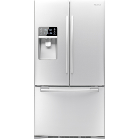 Samsung 28.5-cu ft French Door Refrigerator with Dual Ice Maker (White) ENERGY STAR