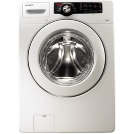 Samsung 3.5-cu ft High-Efficiency Stackable Front-Load Washer (White) ENERGY STAR