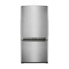 Samsung 18 cu ft Bottom Freezer Refrigerator (Platinum) ENERGY STAR