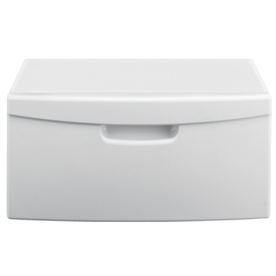 Samsung 15-in Laundry Pedestal with Drawer (White)