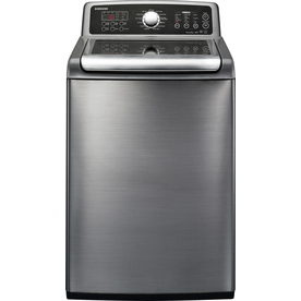 Samsung 4.7 cu ft High-Efficiency Top-Load Washer (Platinum) ENERGY STAR