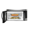 Samsung 2-cu ft Over-The-Range Microwave with Sensor Cooking Controls (Stainless Steel) (Common: 30-in; Actual: 29.87-in)
