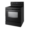 Samsung Smooth Surface Freestanding 5.9-cu ft Self-Cleaning Electric Range (Black) (Common: 30-in; Actual: 29.90-in)